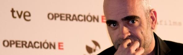 Luis Tosar, ayer en Madrid